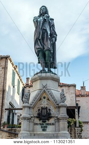 Statue In Dubrovnik