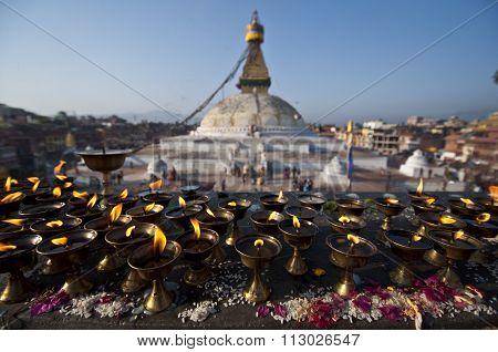 The Great stupa Bodhnath