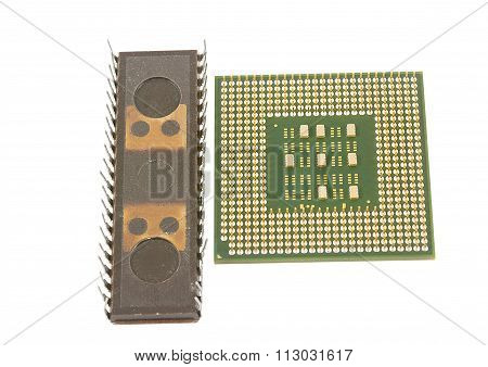 Modern And Old Cpu