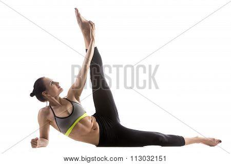 Vishnu Couch Pose