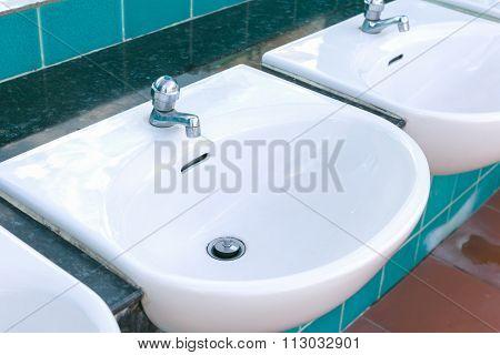 Washbasin Sink Public Outdoor.