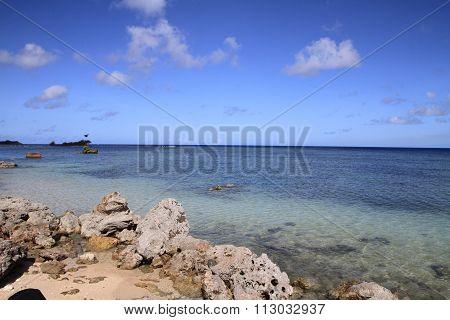 Ga'an Point in Guam Micronesia