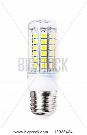 Energy-saving Led Lamp Isolated On White Background.