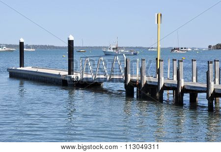 Mandurah Foreshore Dock, Western Australia