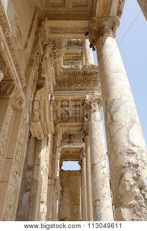 The Column In Efes.