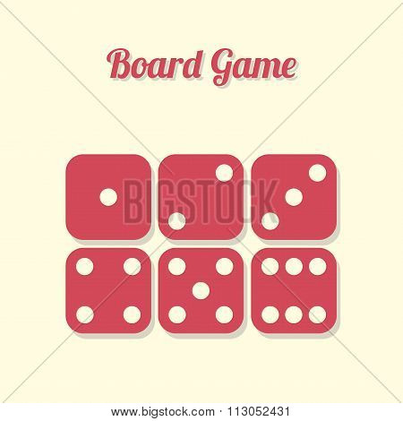 All parties dice, board game