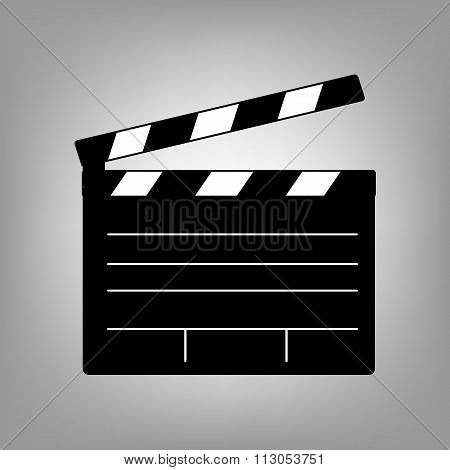 Film clap icon