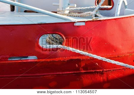 Detail On Boat