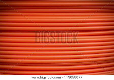 Orange Fiber Cables