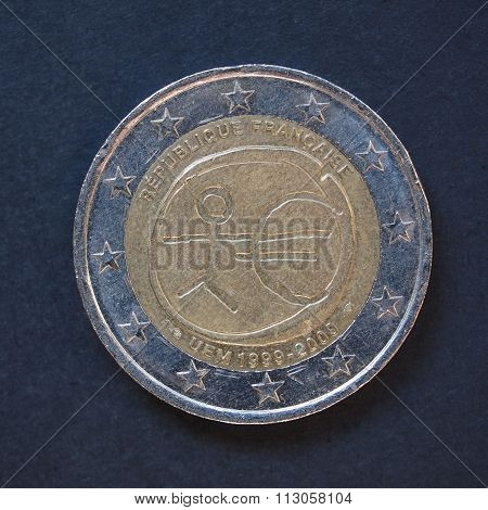 2 Euro Coin From France