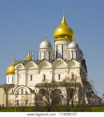 Moscow, Arkhangelskiy Kremlin Cathedral