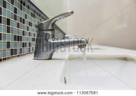 Washbasin And Faucet