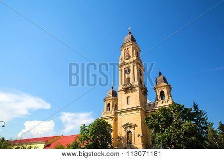 Roman Church In Oradea.