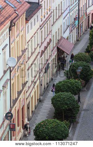 Zlotoryja, Basztowa Street