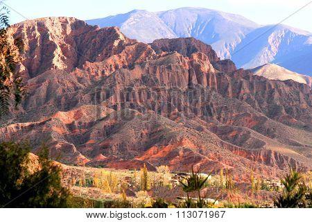 Landscape In Salta.