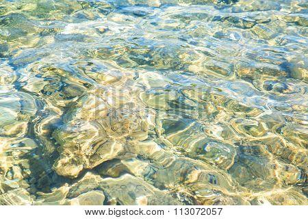 Ocean Water Ripples Background.
