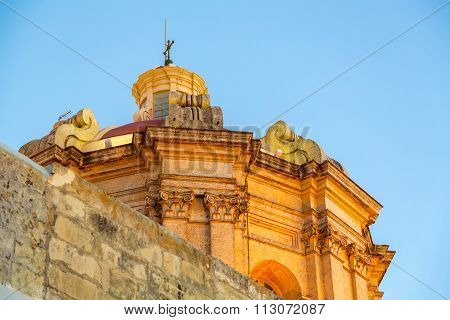 Historic Architecture In Imdina.
