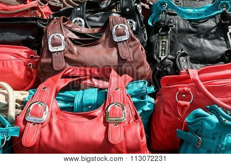 plastic handbags