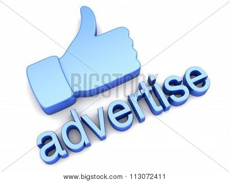 Thumbs Up - Advertise.