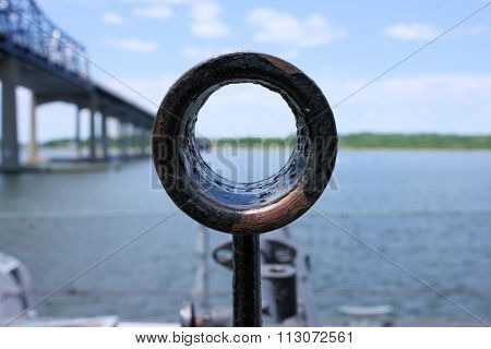 World War II Battleship Gun Sight