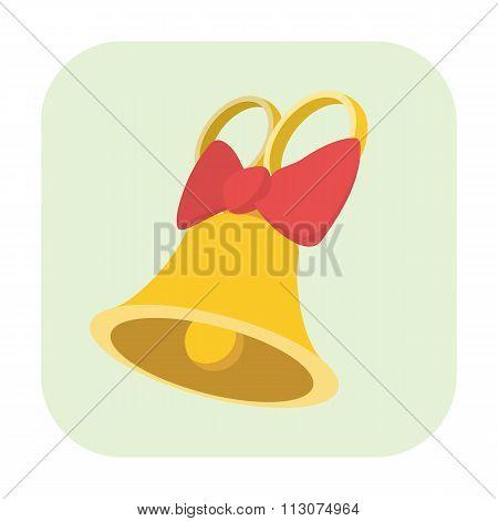Bell cartoon icon