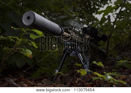 Suppressor And Rifle