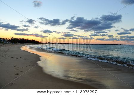 Tofo Beach Sunset, Mozambique