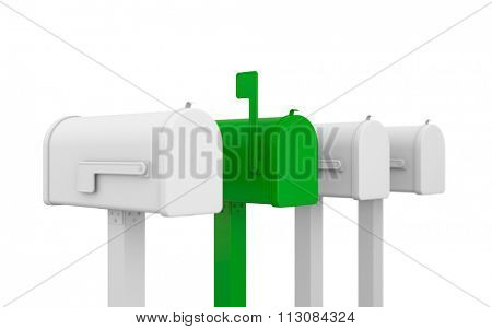 Different mailbox