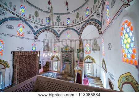 Mostar, Bosnia and Herzegovina - August 25, 2015: Koski Mehmed Pasha Mosque in Mostar city