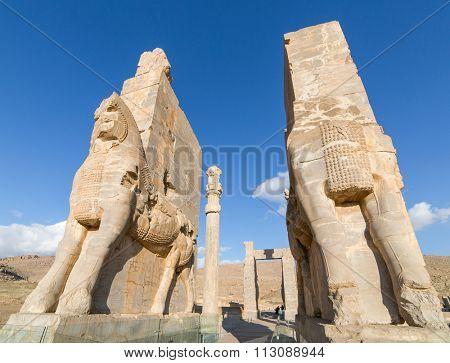 Ancient Persepolis Gate, Iran