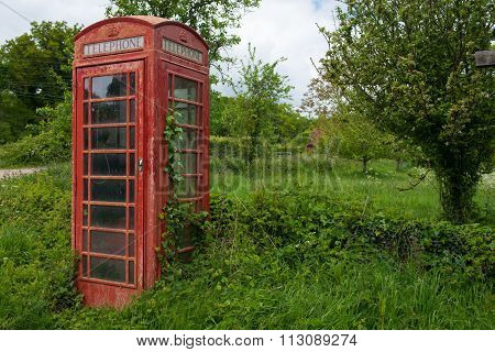 English Country Phone Box