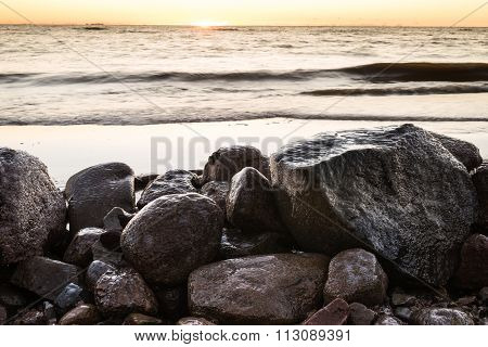 The Gulf Of Finland In Early Winter