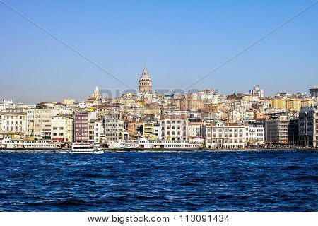 Galata tower view