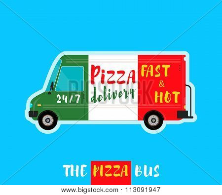 Pizza bus delivery