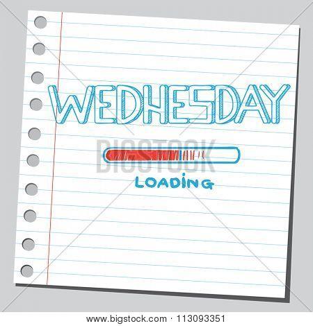 Wednesday loading bar