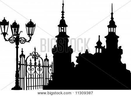 Europäischen Altstadt