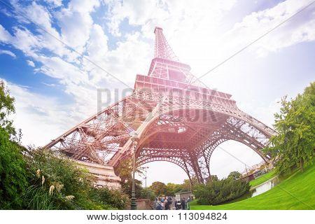Excursion to the Eiffel Tower, Paris