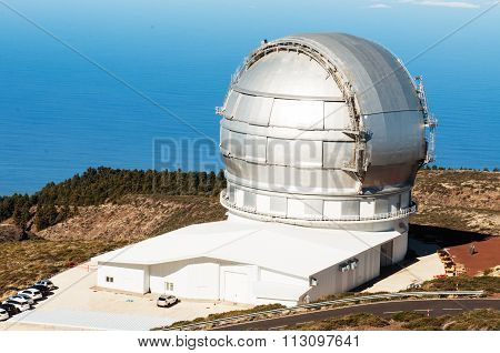 Grantecan Telescope In La Palma