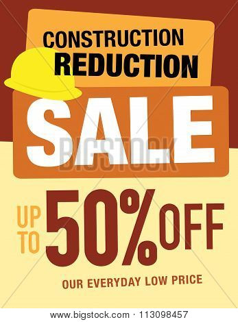 Construction Sale