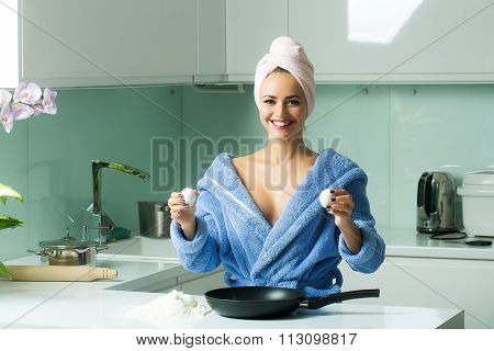 Sexy Cooking Woman