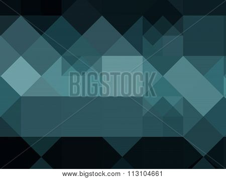 Abstract Geometric Blue Green Background