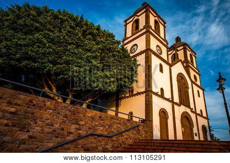 Church in Ingenio town on Gran Canaria island