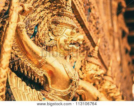 Garuda Wat Phra Kaew Bangkok Thailand Grand Palace