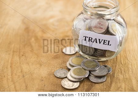 Collecting Money For Travel Around The World
