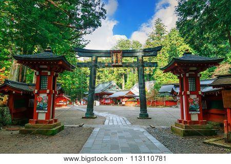 Nikko Futarasan Shrine in Nikko, Tochigi Japan
