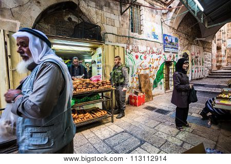 Normal Life In Jerusalem, Israel