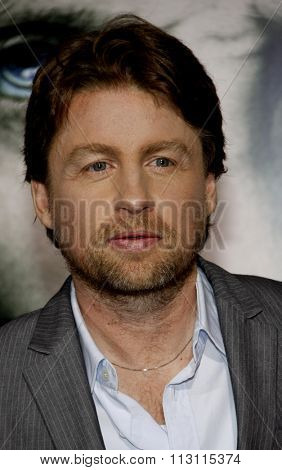 HOLLYWOOD, CALIFORNIA - January 26, 2010. Mikael Hafstrom at the Los Angeles premiere of