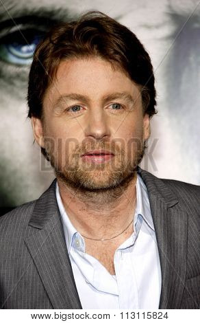 HOLLYWOOD, CALIFORNIA - January 26, 2010. Director Mikael Hafstrom at the Los Angeles premiere of