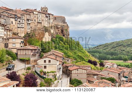 Frias - Medieval Town In Province Of Burgos