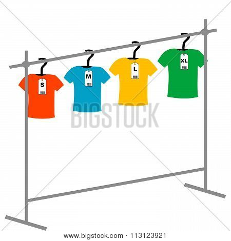 Coat Hangers With Tags